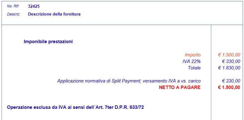 Split Payment su IVA